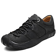 Men's Formal Shoes Nappa Leather Spring / Fall & Winter Casual / British Oxfords Non-slipping Black / Coffee / Khaki / Dress Shoes