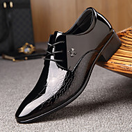 Men's Formal Shoes Leather Spring & Summer Business / British Oxfords Wear Proof Black / Party & Evening / Party & Evening / Dress Shoes