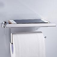 economico -porta carta igienica design premium / cool moderno acciaio inossidabile 1pc montato a parete