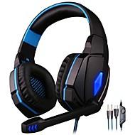 KOTION EACH G4000 Gaming Headset Ledning Med Mikrofon Med volumenkontrol Gaming