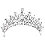 Alloy Tiaras with Rhinestone 1 Piece Wedding Headpiece