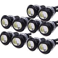ieftine -10pcs Mașină Becuri 9 W LED Performanță Mare 110 lm 1 LED Bec Semnalizare Pentru Motoare generale Universal