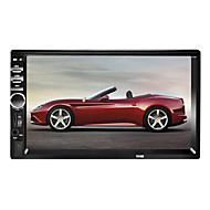 preiswerte -7018 7 zoll 2 din windows ce 6,0 in-dash bluetooth auto dvd player für universelle unterstützung avi / mpg / pmp mp3 / wma / wav / tf karte / auto multimedia player / auto mp5 player