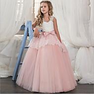 Cinderella Princess Dress Party Costume Girls' Kid's Organza Costume Purple / Red / Pink Vintage Cosplay Sleeveless