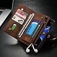 ケース 用途 Samsung Galaxy S7 edge ウォレット / カードホルダー / スタンド付き フルボディーケース ソリッド ハード PUレザー