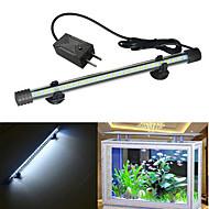 Fish Aquarium LED Light White Durable LED Lamp V Plastic