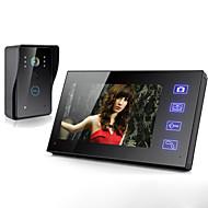 povoljno -bežični 7 inčni video interfon video vrata telefon domofon, zvono na vratima hd lcd zaslon osjetljiv na dodir telefon dvosmjerni jasni kućni sigurnosni monitor za nadzor pristupa kućnim vratima sigurn