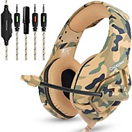 LITBest K1B Gaming Headset Wired with Microphone with Volume Control Gaming