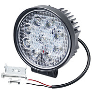 baratos -1 peça lâmpadas de carro 27 w integrado led 6000 lm 9 led luz de nevoeiro / luz de circulação diurna / luz de pisca para universal todos os anos