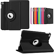 cheap -Case For Apple iPad Air / iPad 4/3/2 / iPad (2018) 360° Rotation / with Stand Full Body Cases Solid Colored Hard PU Leather / iPad Pro 10.5 / iPad (2017)