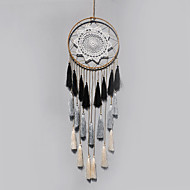 Handmade Dream Catchers With Feather Bohemia India Style Wall Decoration