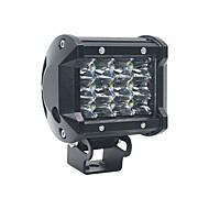 ieftine -1 buc de motociclete / becuri auto 36 w smd 3030 6000 lm 9 leduri de ceață / lumini de zi / lumini de semnalizare pentru toți anii