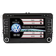povoljno -520wgnr04 7 inčni 2 din automobilski dvd player s ekranom osjetljivim na dodir / gps / ugrađeni bluetooth za podršku volkswagen / rds / upravljanje upravljačem / izlaz subwoofera / igre / tf / usb / w