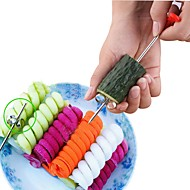 abordables -Acier inoxydable Ustensiles pour fruits & légumes Creative Kitchen Gadget A Faire Soi-Même Outils de cuisine Pour Fruit Pour légumes Carotte 1 set