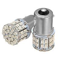 baratos -2 pcs bau15s 150 7507 py21w 50smd levou luzes de sinal de volta do carro tial freio lâmpada âmbar dc 12 v 3.5 w