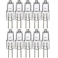 billige -10stk 20w halogen bi-pin lys 120 lm g4 1 halogen perle smd varm hvit 12 v