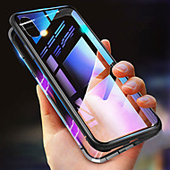 Case For Apple iPhone XS / iPhone XR / iPhone XS Max Shockproof / Transparent / Magnetic Full Body Cases Solid Colored Hard Metal