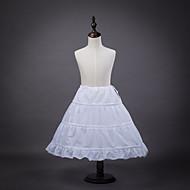 Petticoat Hoop Skirt Tutu Under Skirt 1950s White Petticoat / Kid's / Crinoline