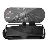 ZIQIAO Car HUD Head Up Display Speed Warning GPS Navigation HUD Bracket For Smart Mobile Phone Car Stand Folding Holder