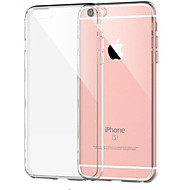 Case For Apple iPhone 8 Plus / iPhone 8 / iPhone 7 Plus Shockproof / Transparent Back Cover Solid Colored Soft TPU