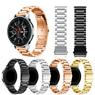 cheap -Watch Band for Samsung Galaxy Watch 46 Samsung Galaxy Sport Band / Classic Buckle Metal / Stainless Steel Wrist Strap