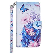 Case For Nokia Nokia 7.1 / Nokia 6 2018 / Nokia 5 Wallet / Card Holder / with Stand Full Body Cases Butterfly / Flower Hard PU Leather