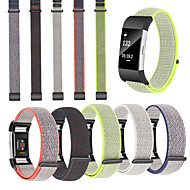 cheap -Watch Band for Fitbit Charge 2 Fitbit Sport Band Nylon Wrist Strap