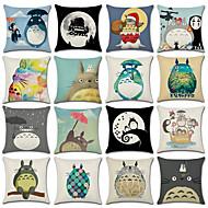 1 pcs Cotton / Linen Pillow Cover, 3D Print Animal Fashion Christmas Throw Pillow