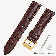 Leather strap men's leather watch with bracelet accessories ladies substitute dw Tissang Longines Cassi Europe and the United States King 14/16/18/19mm