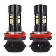 baratos -1 par genuine branco pgj19-2 luz de nevoeiro carro h8 h9 h11 led lâmpada 6000 k led luz de nevoeiro pgj19-1 apto para toyota / volkswagen / audi