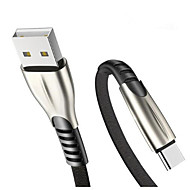 cheap -Type-C Cable Flat / Braided / Quick Charge Nylon USB Cable Adapter For Samsung / Huawei
