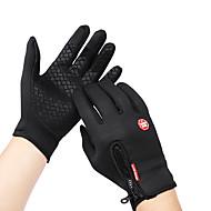 povoljno -Zima Biciklističke rukavice Rukavice za ekrane osjetljive na dodir Brdski biciklizam biciklom na cesti Touch Screen Vodootporno Vjetronepropusnost Ugrijati Cijeli prst Aktivnost / Sport Rukavice Runo