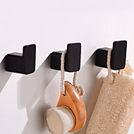cheap -Robe Hook Creative Fun & Whimsical Aluminum 3pcs - Bathroom / Hotel bath Wall Mounted