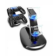 Charging Station Durable LED Light Indicators Game Controlle Charger Kits For PS4 / PS4 Slim / PS4 Pro