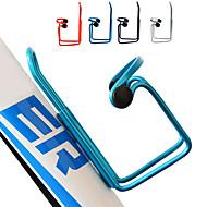 Sykkel Water Bottle Cage Justerbare Bærbar Lettvekt Ikke-formbar Holdbar Til Sykling Vei Sykkel Fjellsykkel Fritidssykling Aluminum Alloy Sølv Rød Blå