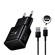 billige -Hurtig oplader USB oplader EU  Stik QC 2.0 1 USB-port 3.1 A DC 5V for Universel