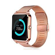 Smartwatch Digital Modern Style Sporty 30 m Water Resistant / Waterproof Bluetooth Smart Digital Casual Outdoor - Black Gold Silver