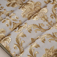 Wallpaper Nonwoven Wall Covering - Adhesive required Floral / Botanical