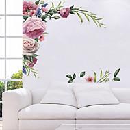 Autocolante de Perete Decorative - Autocolante perete plane Peisaj / Floral / Botanic Sufragerie / Dormitor / Bucătărie / Re-poziționabil