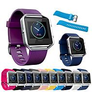 Sport Silicone Wristband Wrist Strap Watch Band Bracelet for Fitbit Blaze Smart Watch