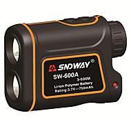 SNDWAY 600m SW-600A Monocular metre Laser Rangefinder Distance Meter hunting Telescope trena laser range finder measure outdoor