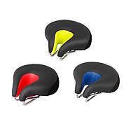 economico -Selle di bicicletta / Selle di bicicletta Extra largo Comfort Cuscino Design cavo pelle sintetica Gel di silice Ciclismo Bici da strada Mountain bike Nero Arancione Verde