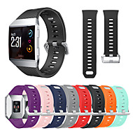 cheap -Watch Band for Fitbit ionic Fitbit Classic Buckle Silicone Wrist Strap
