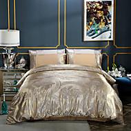 Wedding Supplies European Satin Jacquard Cotton Bedding 4 Piece Sheets Bedding Set