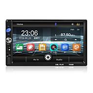 ieftine -7 inch bluetooth 2 din oglinda link-ul pentru Android 8.0 suport spate aparat de fotografiat aparat de fotografiat radio lcd touch screen car audio fm 2 din 7036b