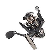 Fishing Reel Spinning Reel 5.5:1 Gear Ratio+13 Ball Bearings Hand Orientation Exchangable Sea Fishing / Bait Casting / Ice Fishing - RX5000 / Jigging Fishing / Freshwater Fishing / Carp Fishing