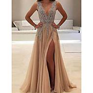 Kadın's Temel Kılıf Elbise - Solid, Payetler Maksi