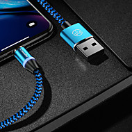 cheap -CaseMe Type-C Cable Magnetic Charger Cable Phone Fast Charging LED 1.0m(3Ft) Nylon Braided for Samsung / Huawei / Sony / Xiaomi / OPPO / Vivo