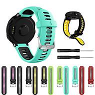 forerunner için smartwatch band235 / 630/735 / 735xt / 220/230/620 / yaklaşımlar20 / s5 / s6 giysi askısı silikon spor moda yumuşak bant