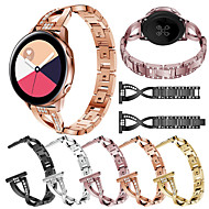 cheap -Watch Band for Samsung Galaxy Watch 42 / Samsung Galaxy Active Samsung Galaxy Jewelry Design Stainless Steel Wrist Strap